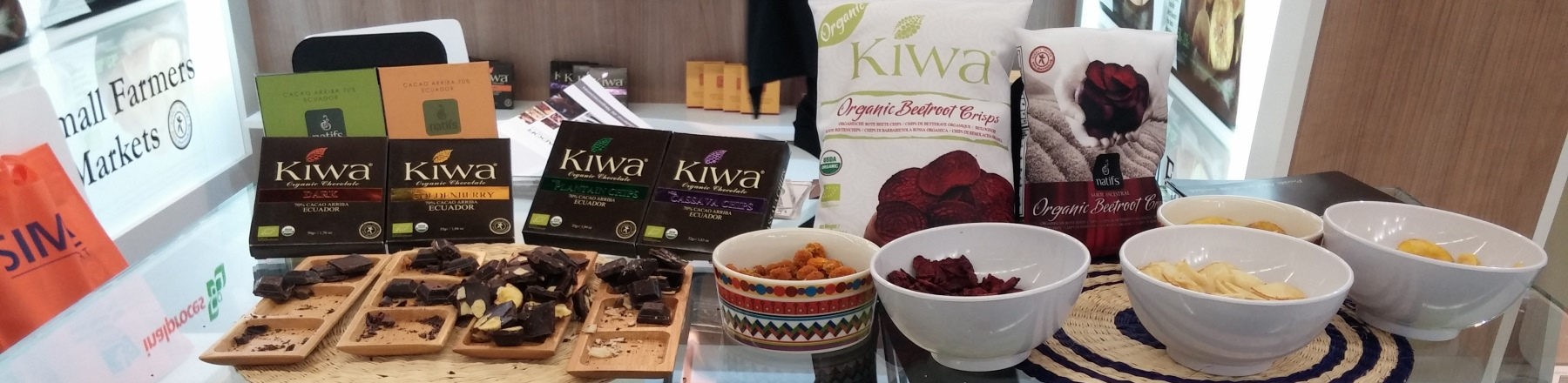Organic chocolate from Ecuador brought to European market by KIWA Inalproces